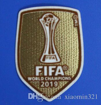 2019 Club World Cup Football patch Real Madrid shirt patch champion patch  badges Soccer Hot stamping