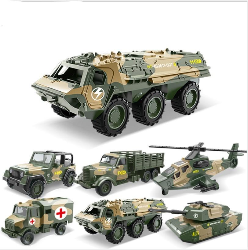 BOY toys gift Metal Alloy Toy Pull Back Model Military vehicle Car multi choices Birthday Gift toy Tank Armored car plane