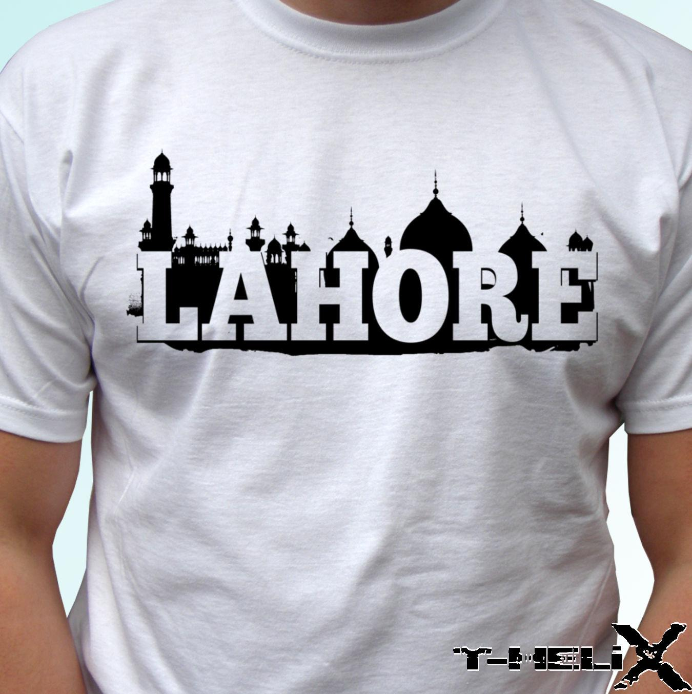 0d2a09a9 Lahore White T Shirt Top Flag Pakistan Country Design Mens Womens Kids Baby  Funny Unisex Casual Tshirt Daily Tee Shirts Coolest Shirt From  Funnybonetees, ...