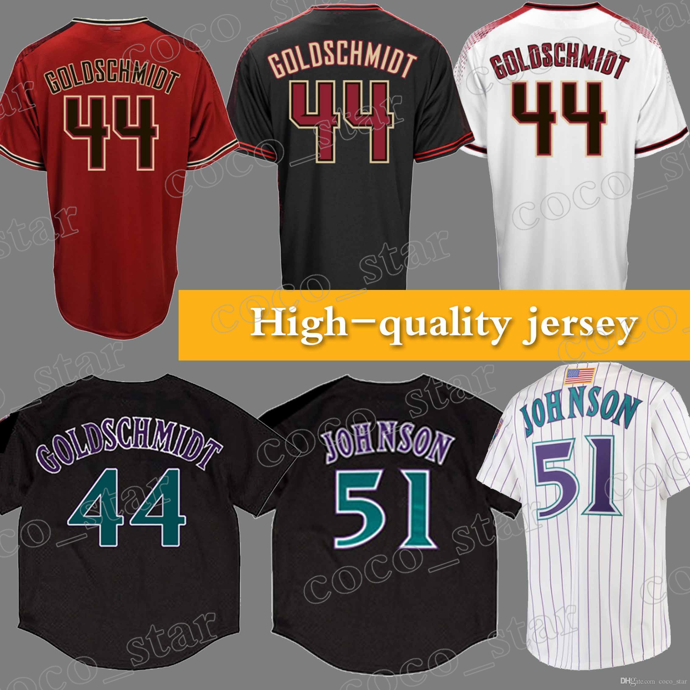 d9822ff5 ... germany 2018 men arizona diamondbacks jerseys 44 paul goldschmidt 2018  new 100 stitched superior quality top ...