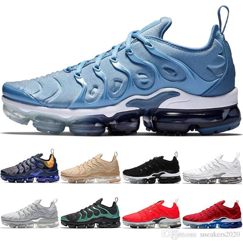 new style cf067 09378 Scarpe Running Saucony Nike Air Vapormax TN Plus Max Airmax TN PLUS Uomo Donna  Running Shoes BE TRUE Giallo Triple Nero Bianco Oreo Volt Viola Trainer  Sport ...