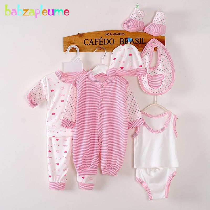 2019 0 3months Spring Summer Newborn Baby Girls Boys Clothes Cotton