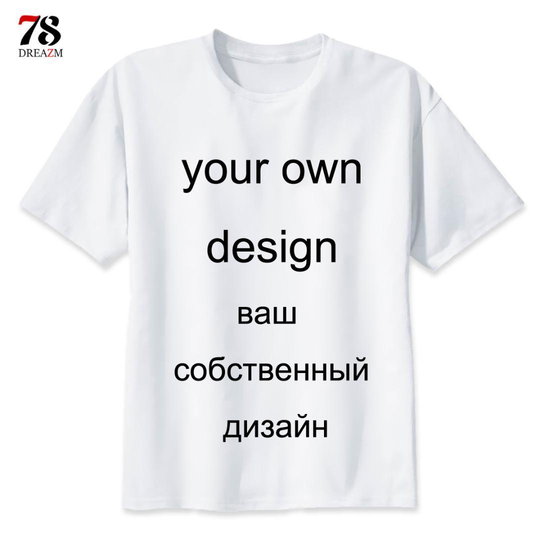 43a5f1be DIY Logo Customized Custom T Shirt Printing Picture 2019 Short Sleeve Your  Own Design T Shirt Men/Women Tshirt Top Male/Female Interesting T Shirt  Designs T ...
