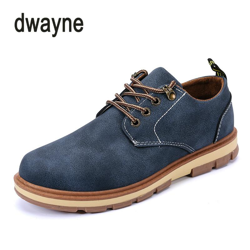 6a10404ec 2018 Hot Sale New Young Men s Casual Leather Shoes Comfortable Lace-Up  Casuals Shoes Breathable Gentleman Driving Shoes Online with  39.85 Pair on  ...