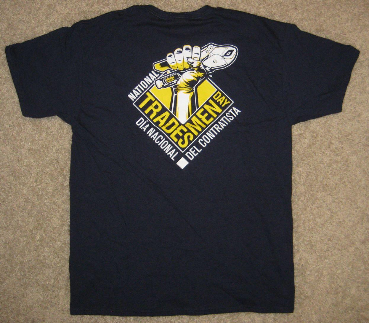 3597e2c5918e IRWIN Tools ~ National Tradesmen Day ~ T Shirt, Fruit Of The Loom 100%  Cotton L Men Women Unisex Fashion Tshirt Hilarious T Shirts Designer T Shirt  From ...