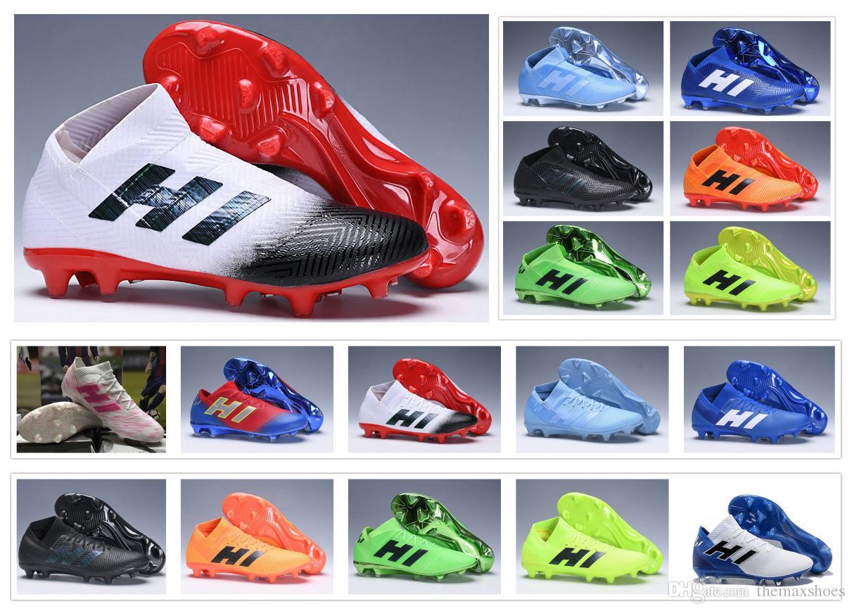Nemeziz 18 X Botas De Botines 18 Espectral Lionel Hombre Para Messi Zapatos Fútbol Modo Agilidad Vendaje 1 Hot Fg zjVUMqpGLS