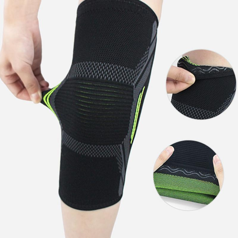 b552befedb 2019 Fitness Running Cycling Compression Knee Support Braces Elastic Nylon  Sport Knee Pad Sleeve For Gym Basketball Volleyball From Kimgee, $36.33    DHgate.