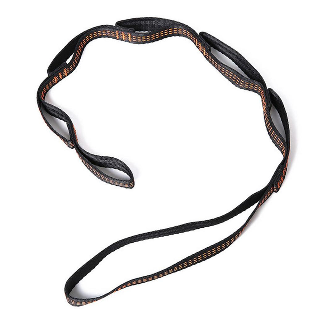 1PCS Multifunction Yoga Stretch Belt Yoga Chain Extender Hammock Extension Belt Rope 1 M 7 Loops