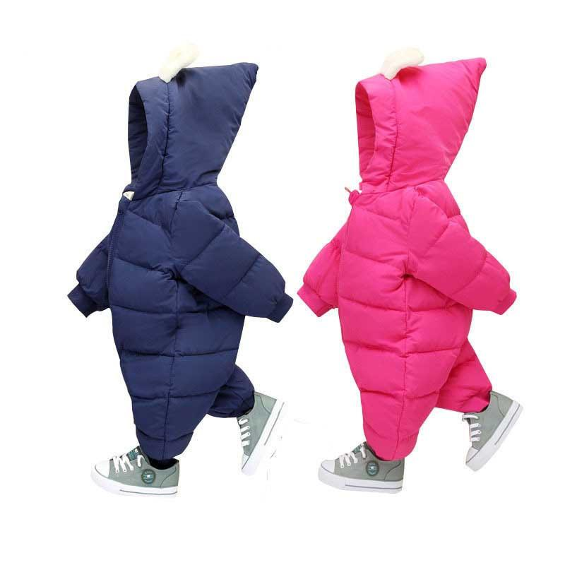 606cfeb5b 2019 Good Quality Baby Clothing New 2019 Winter Infant Bebe Boys Girls  Rompers Clothes Hooded Thick Warm Newborn Rompers Jumpsuit Wear From  Nextbest09, ...