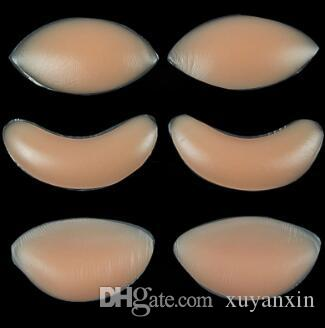 21612cfc5a 2019 Women Silicone Bra Gel Invisible Inserts Breast Pads Push Up Strapless  Bra Insert Breast Enhancer Inserts For Dress Bikini Swimsuit From Xuyanxin