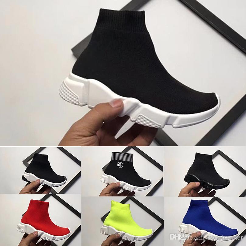 pretty nice 930e3 e2e1b Compre Calcetines Para Niños Zapatos Para Correr Para Niños, Niñas, Niños,  Bebés, Verano, Diseñador, Zapatos Casuales, Deportivos, Deportivos,  Zapatillas De ...