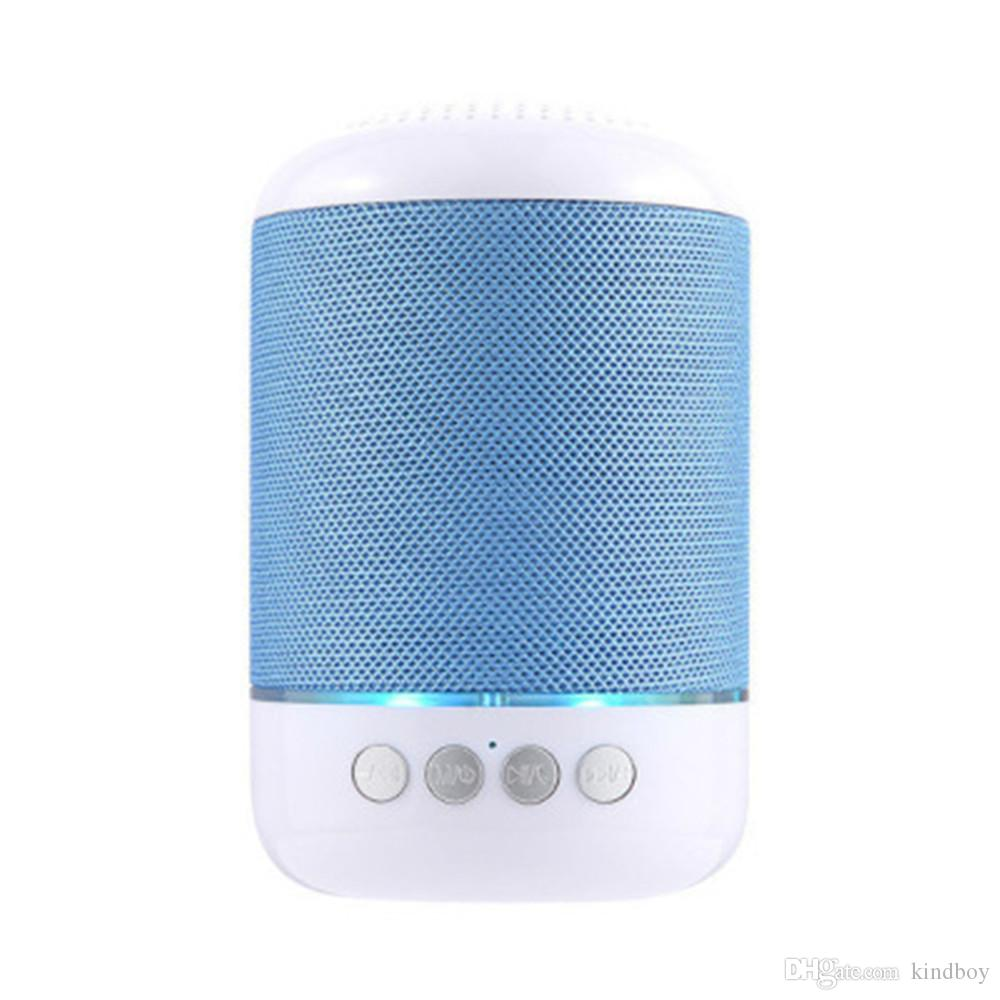 TG115 LED Bluetooth Mini Speaker Wireless Portable Loudspeaker TF USB Music Player FM Radio Mic for iPhone XS 8 Plus Samsung Xiaomi