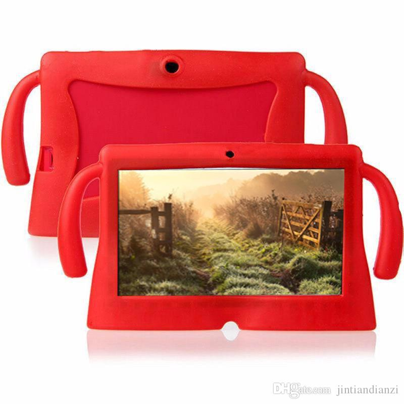 JT DHL 2020 Kids Soft Silicone Rubber Gel Case Cover For Q88 A13 A23 A33 Q8 Android Tablet PC