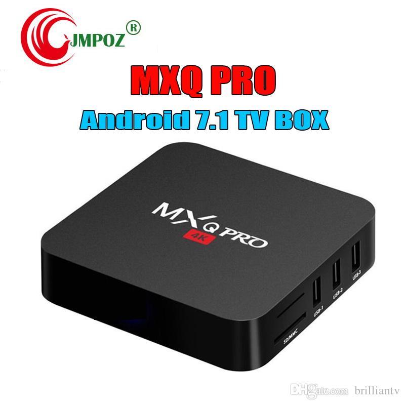 Factory Sale Oem Mx2 Mxq Pro 4k Rk3229 Quad Core Android 71 Tv Box