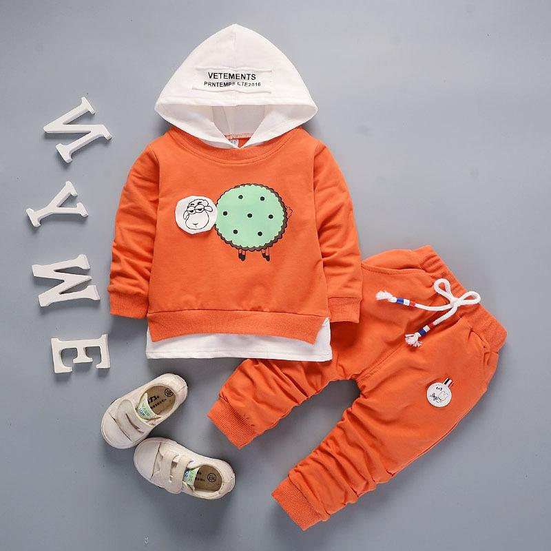 f678f2c59a372 2019 Good Quality Baby Boys Girl Clothes Sets 2019 Fashion Costume Boys  Casual Kids Sport Suits Tracksuit For Boy Girl Hooded Coat 0 3Y From  Textgoods04, ...