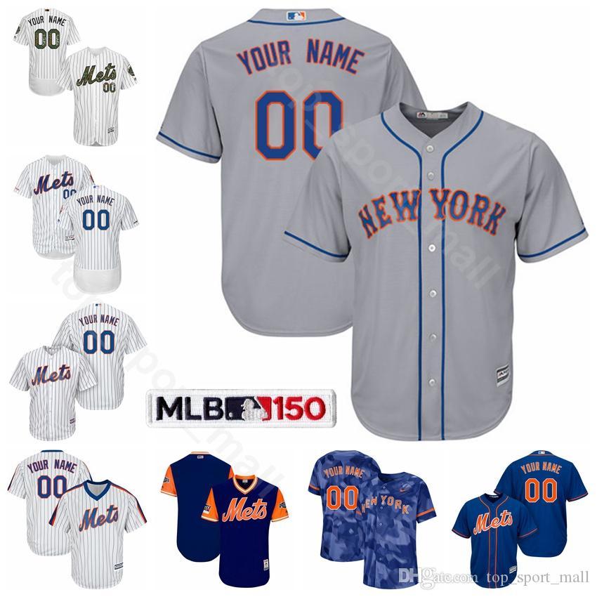 the best attitude 0ff6e 795ab New York Baseball Mets 24 Robinson Cano Jersey Flexbase 1 Amed Rosario 20  Pete Alonso 40 Wilson Ramos 9 Brandon Nimmo JD Davis