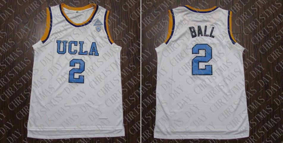 buy online 2c47f 4279d 2019 Cheap Custom UCLA Lonzo Ball #2 College Basketball ...