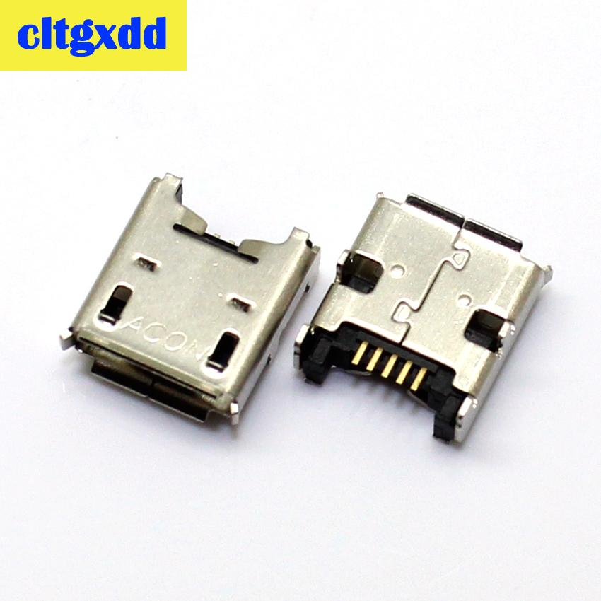 cltgxdd Micro USB DC Charging Socket Port Charger Connector For Acer K004 ME371 USB jack tail plug