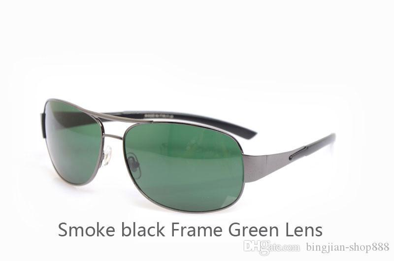 Hochwertige Sonnenbrillen Glaslinsen Designer Sonnenbrillen Mans Brillen Neue Damenbrillen 3404 Sonnenbrillen Green Lens Brillen mit Etuis und Boxen