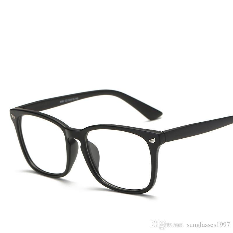 5e24e27c25f4 Square Flat Mirror Large Box Liu Ding Glasses Frame 8082 Literary Retro Glasses  Men And Women Decorative Flat Glasses Tifosi Sunglasses Cheap Eyeglasses ...