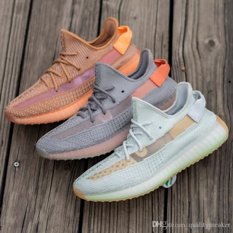 270ccc8b09d49 2019 With Box V2 3M True Form Hyperspace Clay Static Women Men Running Shoes  Kanye West Zebra Beluga 2.0 Seame Sport Sneakers US5 13 From  Qualitysneaker