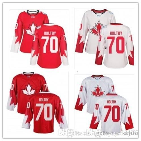huge discount 0b76b b8fd6 2018 can Team Canada Jerseys #70 Braden Holtby Jerseys  men#WOMEN#YOUTH#Men's Baseball Jersey Majestic Stitched Professional  sportswear