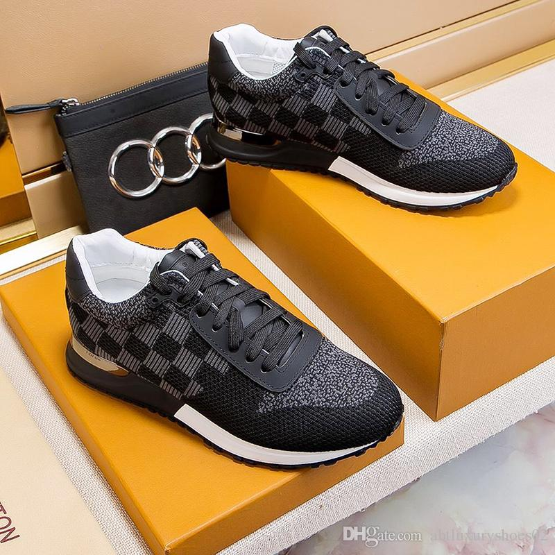 Male Footwears Mens Shoes Casual Luxury Brand Designer Fashion Outdoor Street Platform Shoe Fitness Zapatos de hombre France Trend Drop Ship