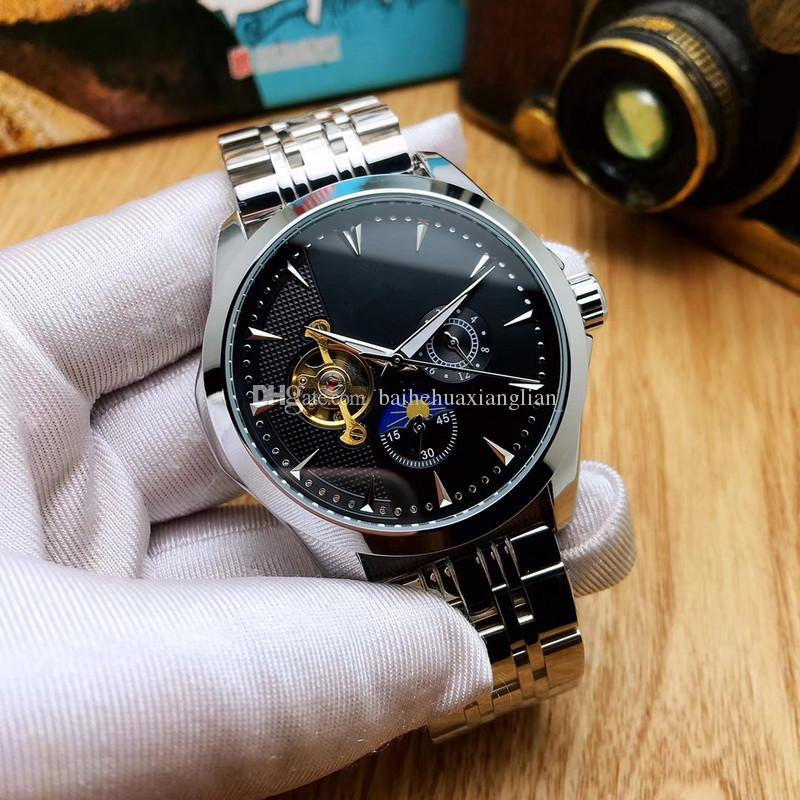 Top Fashion Brand NEW 2019 Classic Mechanical men's Watch Business mens Wrist watch watches free shipping