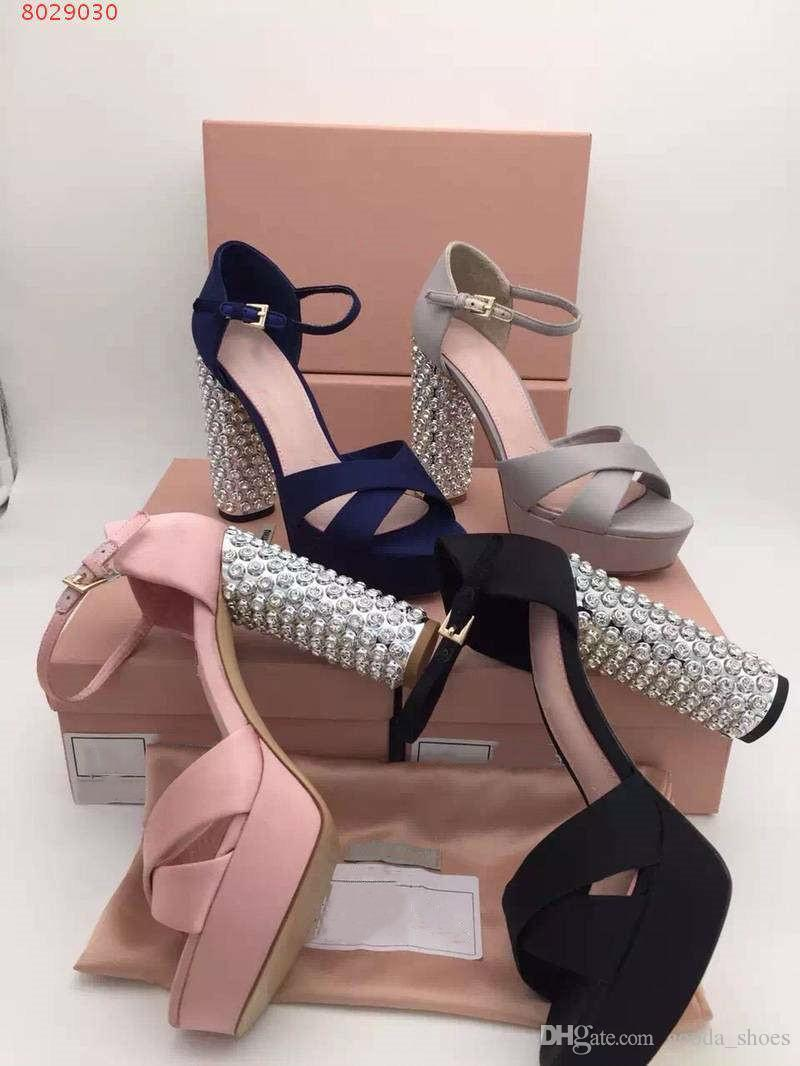 9522cef1b0 Ultra High Night Women In The Summer Waterproof Taiwan With Diamond Catwalk  Shows Thick With High Heels Sandals Shoes For Women Nude Wedges From  Gooda_shoes ...