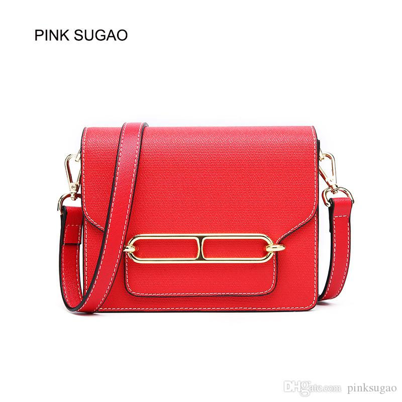 a98679b9a7ab Pink Sugao Designer Luxury Handbags Purses Women Genuine Leatehr Shoulder  Bag New Fashion 2019 Messenger Bag Flap Crossbody Bag For Lady Mens Leather  Bags ...