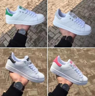 2018 Top quality women men new stan shoes fashion smith sneakers casual leather sport walking shoes