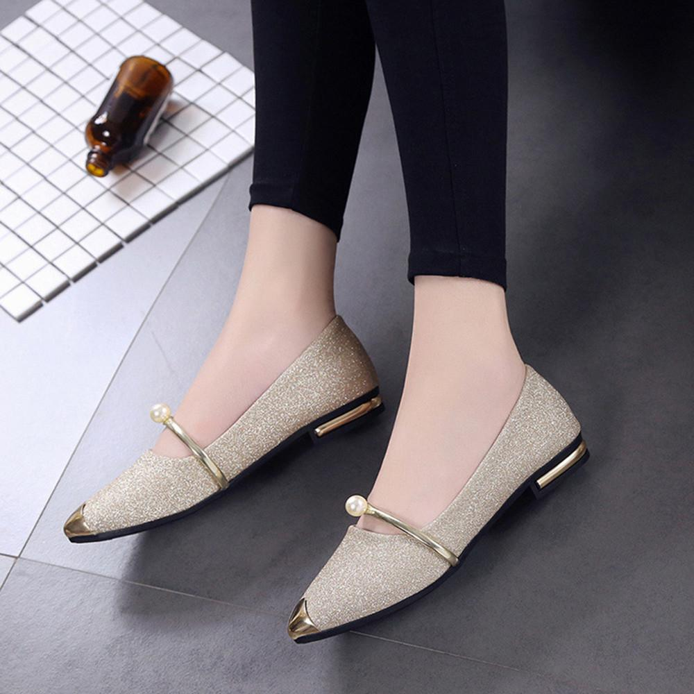 2dbb86dbcf1 2019 Dress YOUYEDIAN Ladies Fashion 2018 Wedge Pumps Women Shoes Ronde Neus Pumps  Women Shoes Crystal Women Shoes Low Platform     Mens Shoes Loafers From ...