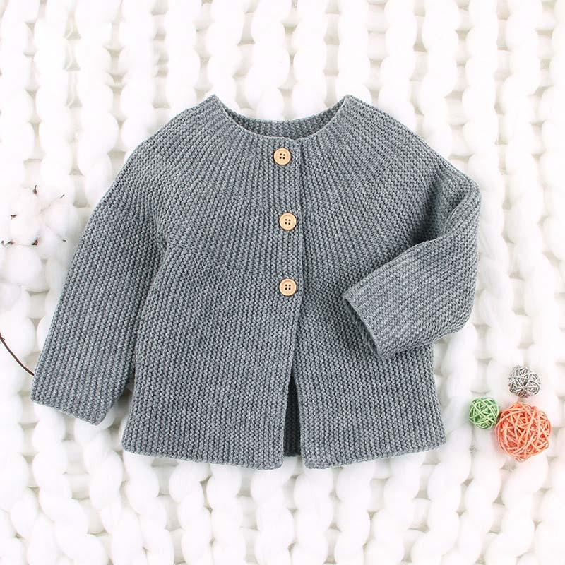 2fc9193796bd 2019 Spring Autumn Baby Girls Sweater Cardigans Long Sleeve Newborn ...