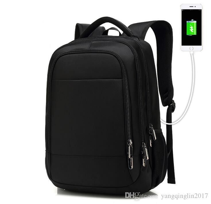 24837dbcb7 Business Backpack Men S School Bag Middle School Student Travel Large  Capacity Computer Backpack Mens Womens USB Charging Backpack Swiss Gear  Backpack ...