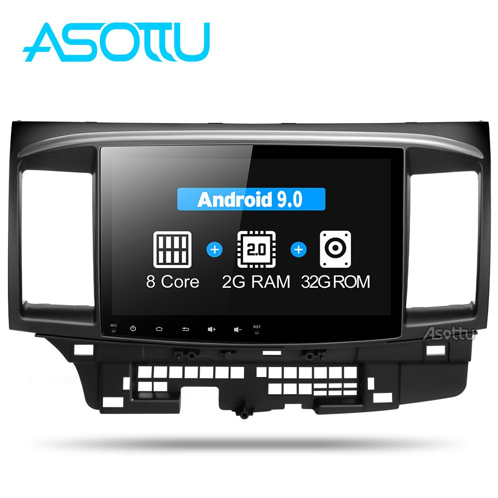 Asottu CYS1060 2G Octa Core Android 9.0 for Mitsubishi Lancer stereo multimedia headunit GPS Radio car dvd gps player stereo