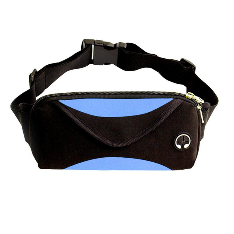 Local stock Women men Sports Pack Belly Waist Bum Bag Fitness Running Jogging Pouch Travel Hiking Chest Bag Durable Neoprene
