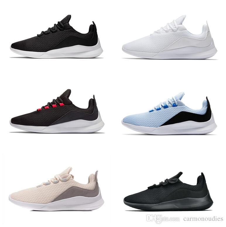 save off e81f9 2abec Acheter NIKE Vente Chaude Designer VIALE Chaussures De Course Olympic  London 5 Tanjun Multi Couleur Hommes Femmes Tout Noir Blanc Bleu Gris Sports  Sneakers ...