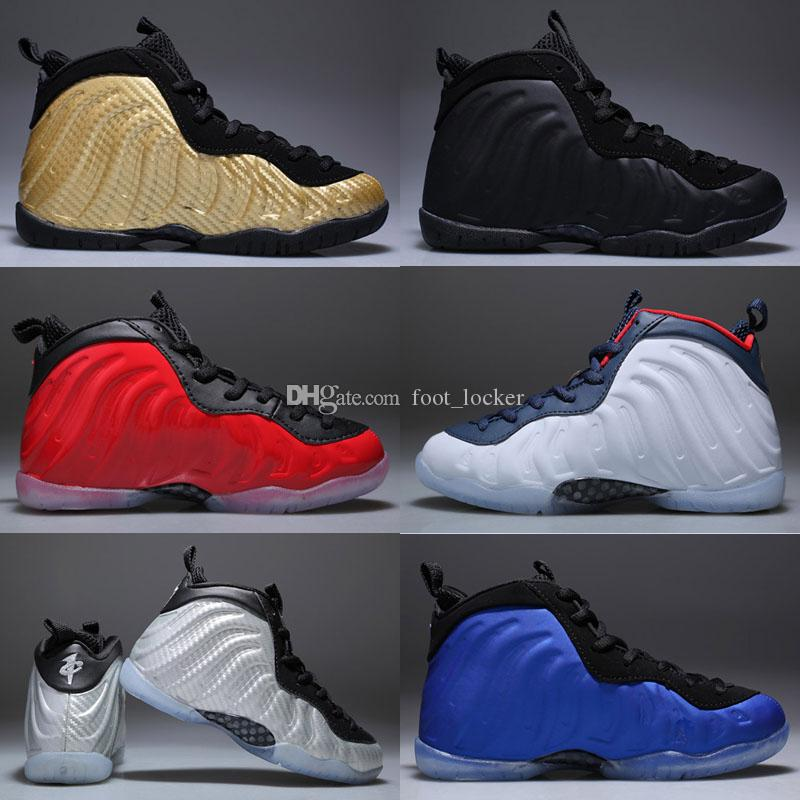 0173f5d62249f 2019 New Baby Kids Penny Hardaway Basketball Shoes Children Running  Athletic Shoes Foams Boys Girls Beluga Sneakers Black Size 28 35 Cushioned  Running Shoes ...