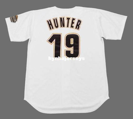 Cheap Custom BRIAN HUNTER Houston genähtes 1994 Majestic Vintage Zuhause-Baseball-Shirt Retro Herren-Jerseys Hemd