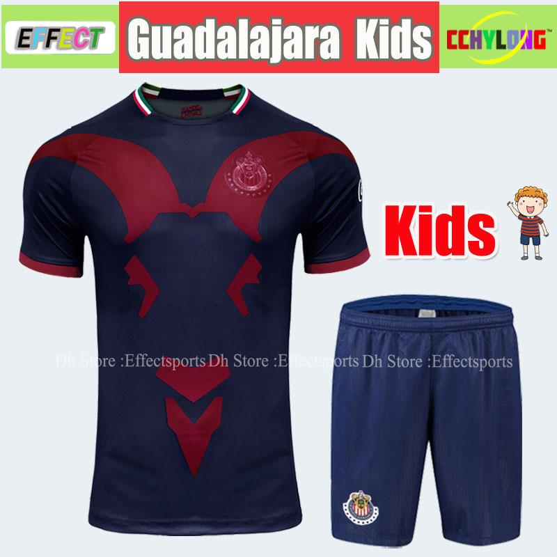 new product 7450f bd25e Kids Jersey 2018/2019 LIGA MX CHIVAS de Guadalajara Kids Kit Club America  UNAM Soccer Jerseys Child Youth Boys 18/19 Football Shirts