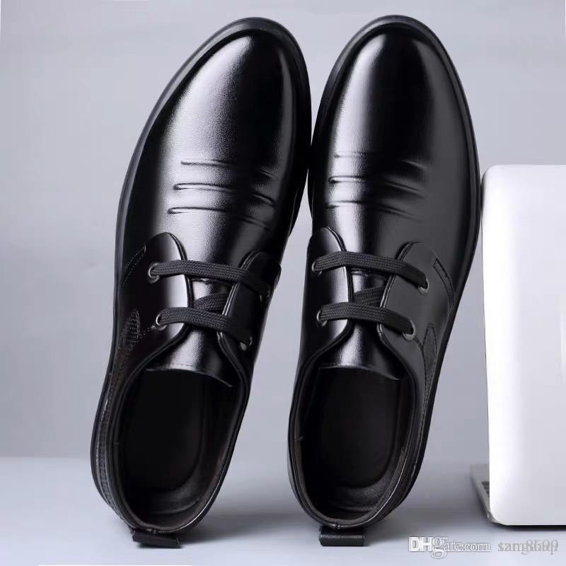 170036e38 Shoe Men S Leather Business Summer Men S Shoes British Korean ...