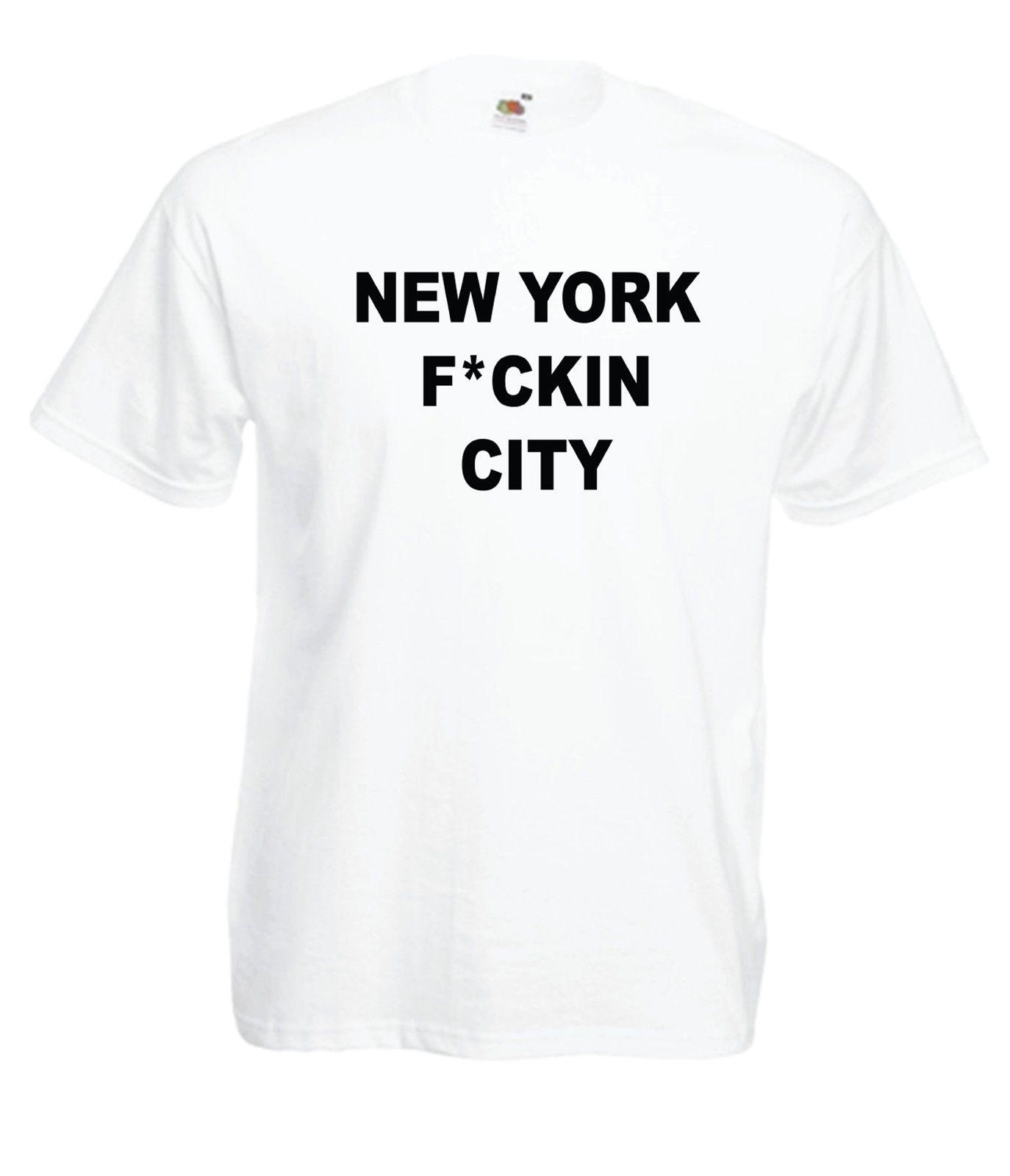 NEW YORK CITY Funny America Slogan Xmas Birthday Gift Idea Suit Hat Pink T Shirt RETRO VINTAGE Classic Black Shirts Long Sleeve From Smilecup