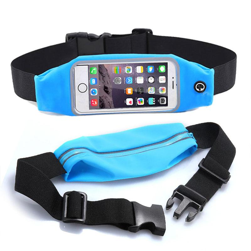 "Sport Waist Belt Pouch Universal For 5.2"" 5.5"" 4.7 inch Case Cover For Meizu m3s Waterproof Running Jogging Mobile phone Gym Bag"