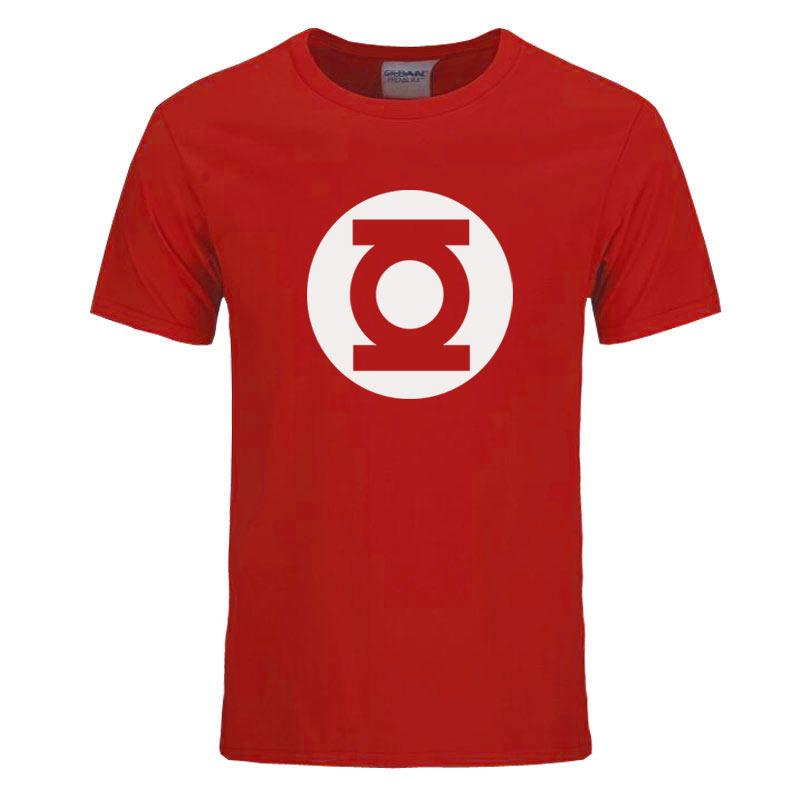 9dd3af9fea4 2017 New Green Lantern T Shirt Men The Big Bang Theory T Shirt Top ...