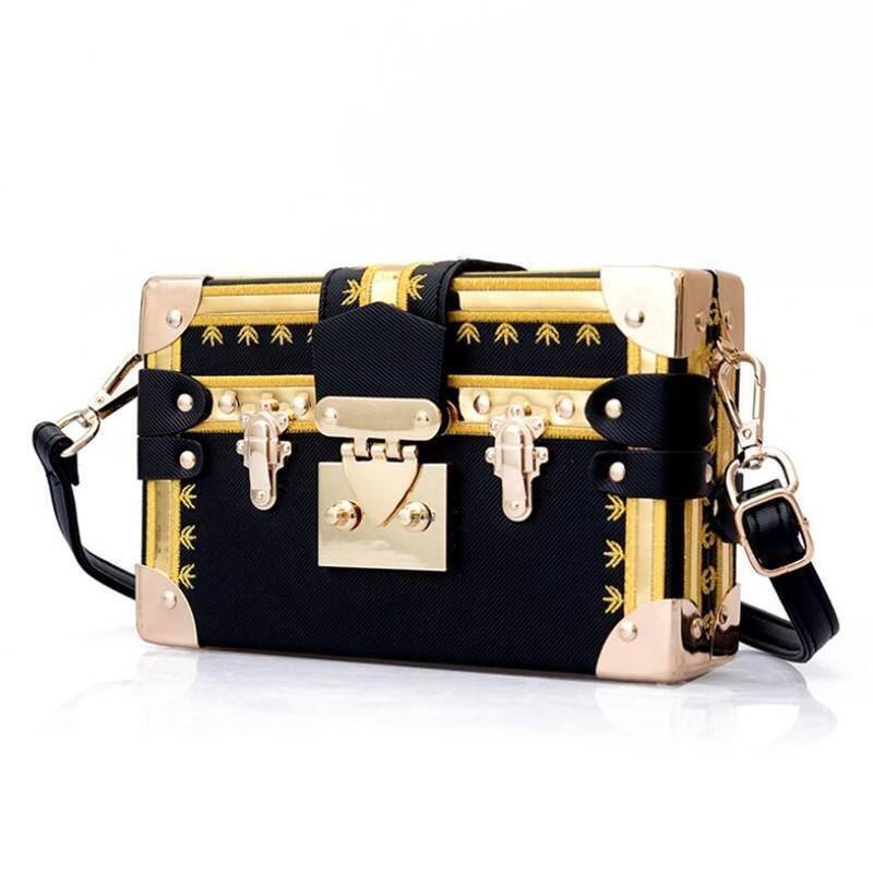d0a98785a4b1 Fashion Box Women Bag Rivets Fashion Women Messenger Bags Small Square  Girls Shoulder Bags 2019 New Female Shoulder Packages