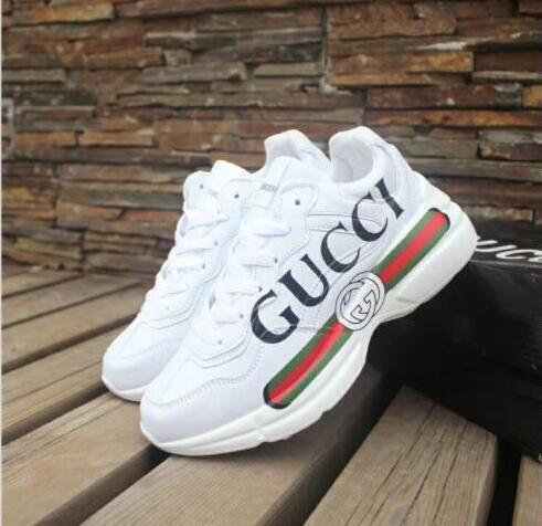 bddd97d6c73 Designer Shoes ACE Luxury Embroidered White Tiger Bee Snake Shoes Genuine  Leather Designer Sneaker Mens Women Casual Shoes Size 36 44 1688 Womens  Shoes ...