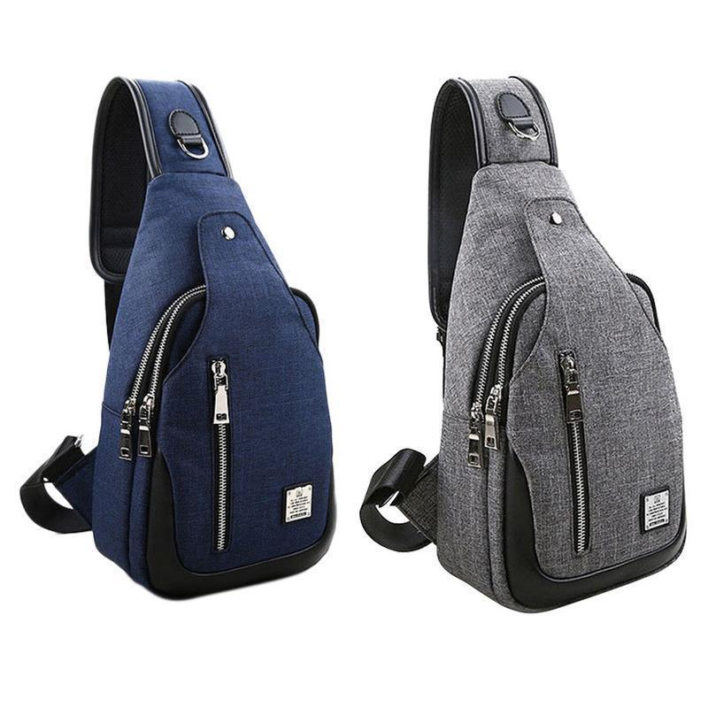 Sling Chest Crossbody Shoulder Pack Bag Messenger Hand Bags For Men Chest  Male Travel Outdoors Sport Cycling Mobile Phone Pocket Cheap Handbags Cheap  Purses ... 05dbd181dcbd1