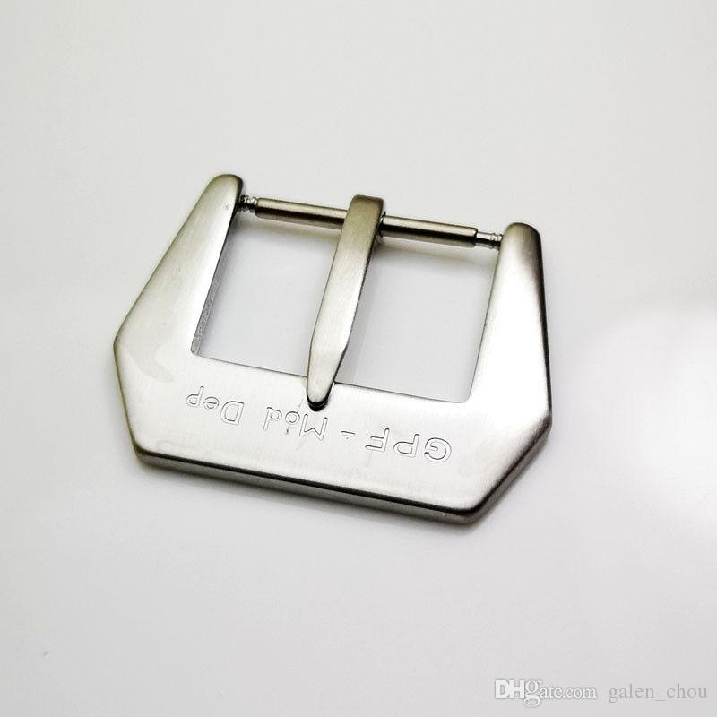 3f954e9f03 Großhandel 24mm Mode Gute Qualität Silbrig Gebürstet GPF Mod Dep  Dornschließe Für PAM Gummi Lederband Von Galen_chou, $17.24 Auf  De.Dhgate.Com | Dhgate