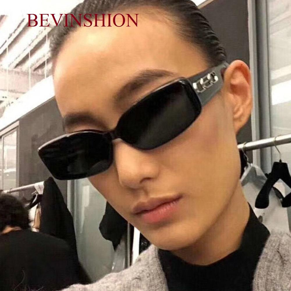 43d249734 New 2019 Vinatge Square Sunglasses Men European And American Fashion Sun  Glasses Women Wide Leg Hip Hop Catwalk Celebrity Mens Eyeglasses Sport  Sunglasses ...