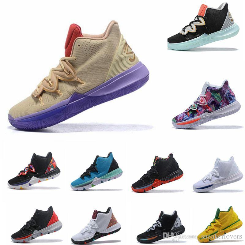 7aa915ec5cf6 Irving 2019 Limited 5 Men Basketball Shoes 5s Black Magic For Kyrie  Chaussures De Basket Ball Mens Trainers Sneakers Zapatillas 40 46 Kids Sneakers  Shoes ...